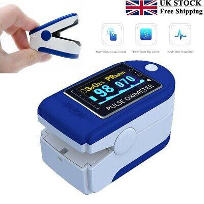 Intelligent DR50 Pulse Oximeter OLED Screen Finger Blood Oxygen Meter Portable