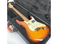 2013 Fender American Deluxe Ash Stratocaster 52 – Sienna Sunburst - Trades
