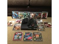 PS3 Console with 15 games & controller