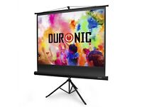 Duronic Portable Tripod Projection Screen (Screen: 122cm (W) X 91cm (H)