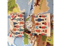 Cath Kidston Guards & Friends Baby Sleepsuit & Hat Gift Set: 0-3 Months