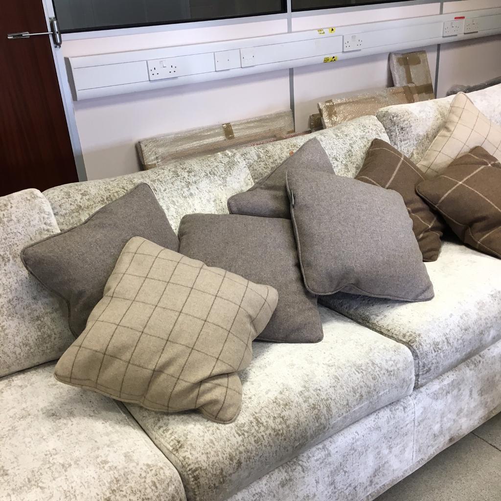 3 x beautiful Neptune cushions