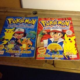 Pokemon Sticker Albums