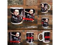 "The walking Dead ""Negan"" mug and matching coaster set"