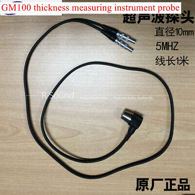 5mhz Ultrasonic Ultrasonic Sensor Probe Gm100 Thickness Measuring Instrument