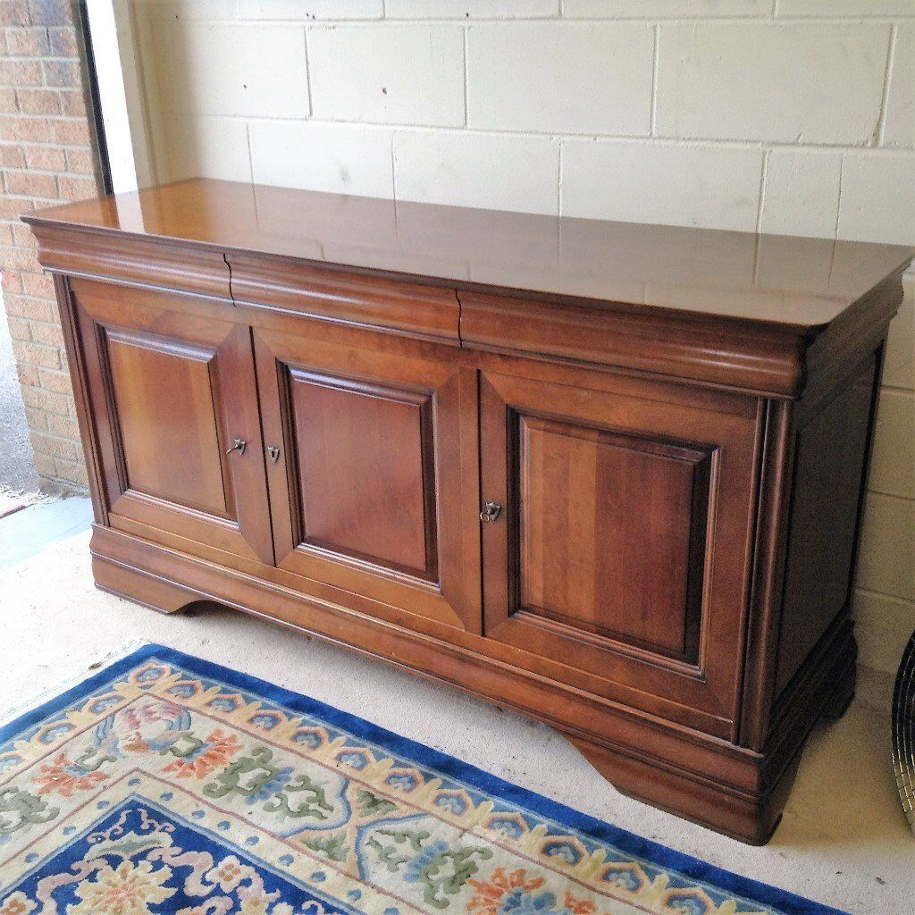 Quality Ernest Menard Cherry Wood Sideboard In Gosport