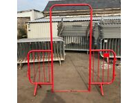 USED RED WALK THROUGH BARRIERS