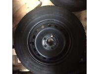 Vauxhall Vivaro/ Renault Trafic wheel with tyre. Goodyear 215/65 R16 4-5 mm