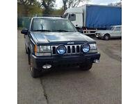 Left hand drive Jeep Grand Cherokee Petrol 4x4 7 seats.