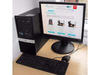 Hp Pro Dual Core Windows 10 Complete PC 3125 MT AMD Athlon II X2 220