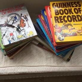 Guinness Book of Records Vintage 1970's to 1990's