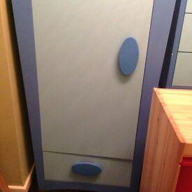Boys blue ikea furniture