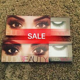 Sale on all branded hudabeauty and kylie makeup