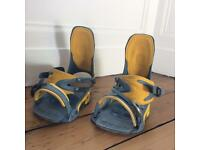 Snowboard bindings - Size large