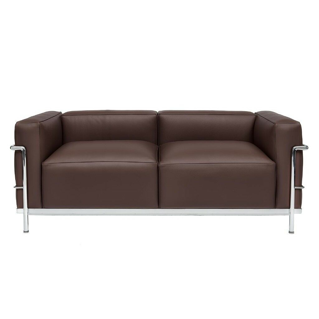 Le corbusier leather sofa amazing deal on mlf le corbusier for Le corbusier sofa