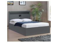 ⚡QUICK THIS WILL NOT LAST⚡ PREMIUM QUALITY RUGBY HIGH GLOSS STORAGE BED 🔥 Available💜In Stock!