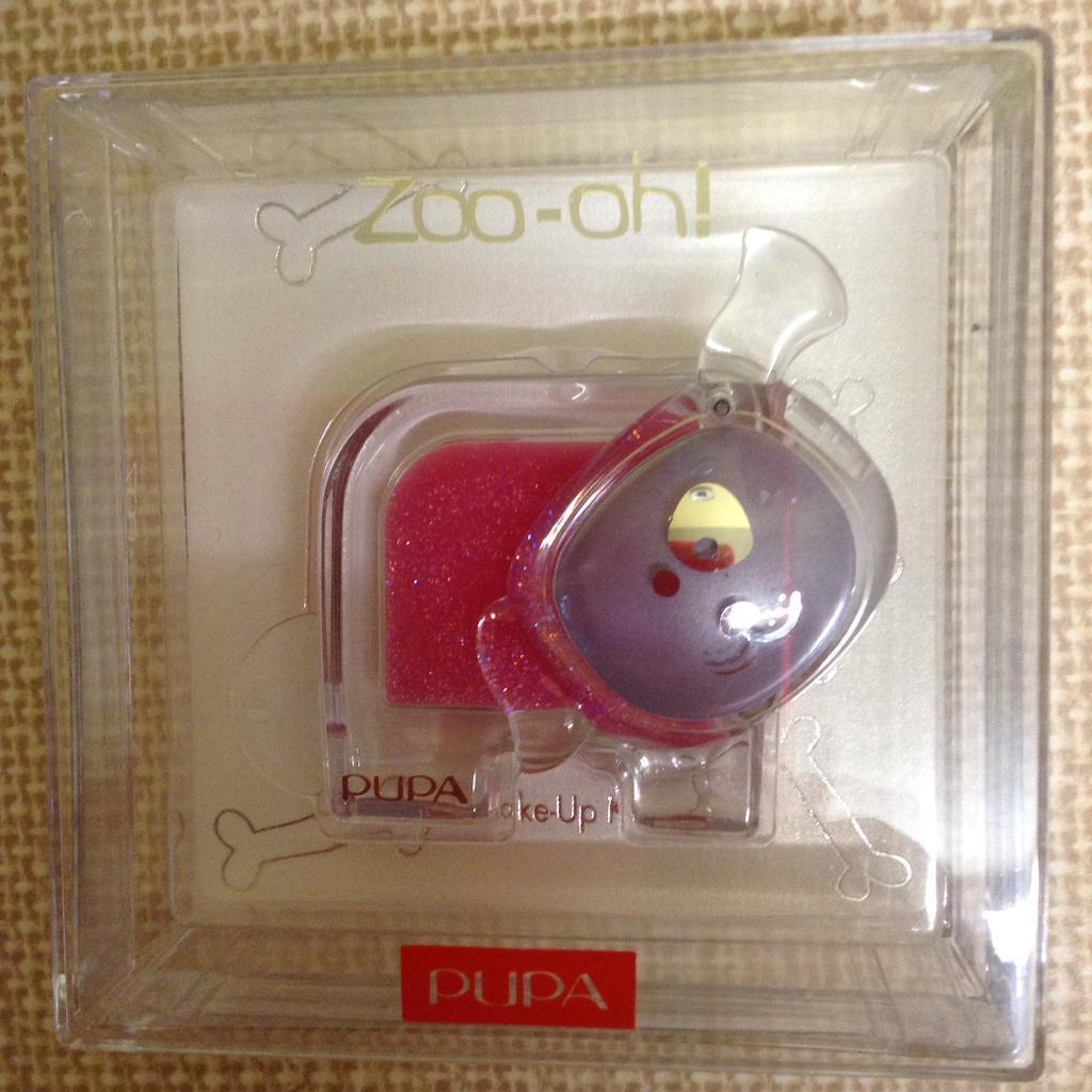 NEW PUPA Zoo-oh! DOG design Make-Up Kit