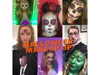 Halloween makeup artist , lots of different looks from £20
