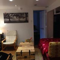 Apartment in Basement Roncesvalles for rent