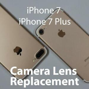 iPhone 7 & 7 Plus camera lens glass repair FAST **