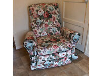 Lovely reclining arm chair