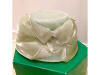 Formal Ladies Hat - pale green