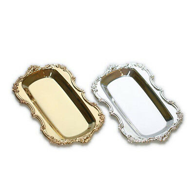 Silver / Gold Serving Trays Serving Platters for Hotel Bar Buffet Party - Serving Trays For Parties