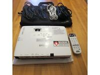 Epson EB-1771W Ultra Portable WXGA Projector - as new. Perfect asset for business persons on the go.