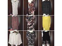 womens clothes bundle size 8 10