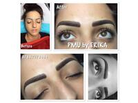 Permanent Makeup and microblading in Essex by Erika