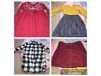 Girls mini clothes bundle 5-6years
