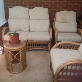 Cane furniture suitable for conservatory