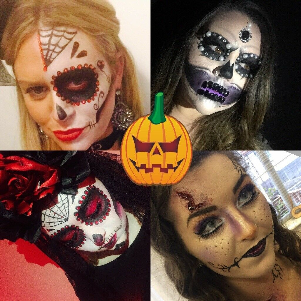 halloween make overs . scars,cuts,day of the dead and more | in