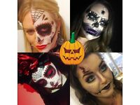 Halloween make overs . Scars,cuts,day of the dead and more