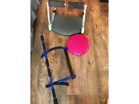 Home gym equipment wonder core, pull up bar &balance pad
