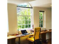 Office space to rent in independent office in Clapham Old Town SW4. Up to 4 desks available!