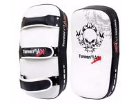 TurnerMAX Thai Kick Boxing Muay Thai Arm Pad, Strike Shield PAIR for MMA UFC Training (Pair)