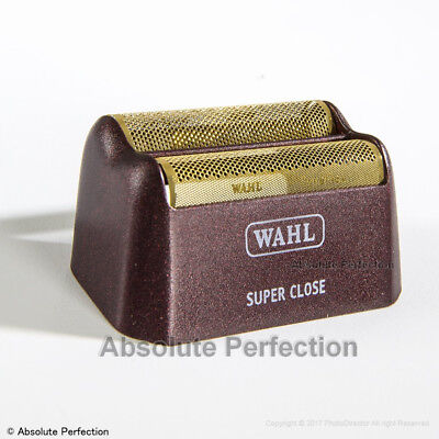 WAHL Shaver / Shaper Replacement SUPER CLOSE FOIL GOLD 5 Star Series for sale  Crown Point