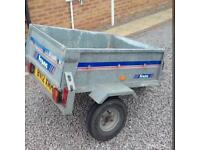 Franc galvanised tipping trailer