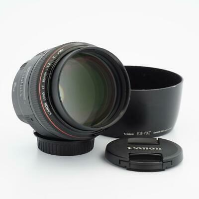 Canon EOS EF 85mm F/1.2 L II USM Lens