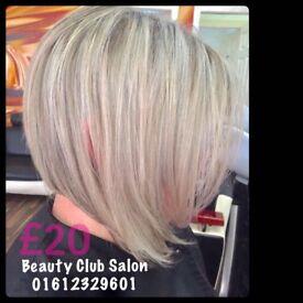 Italian Hairdresser Fallowfield Manchester Salon Highlights Balayage Hair Cut