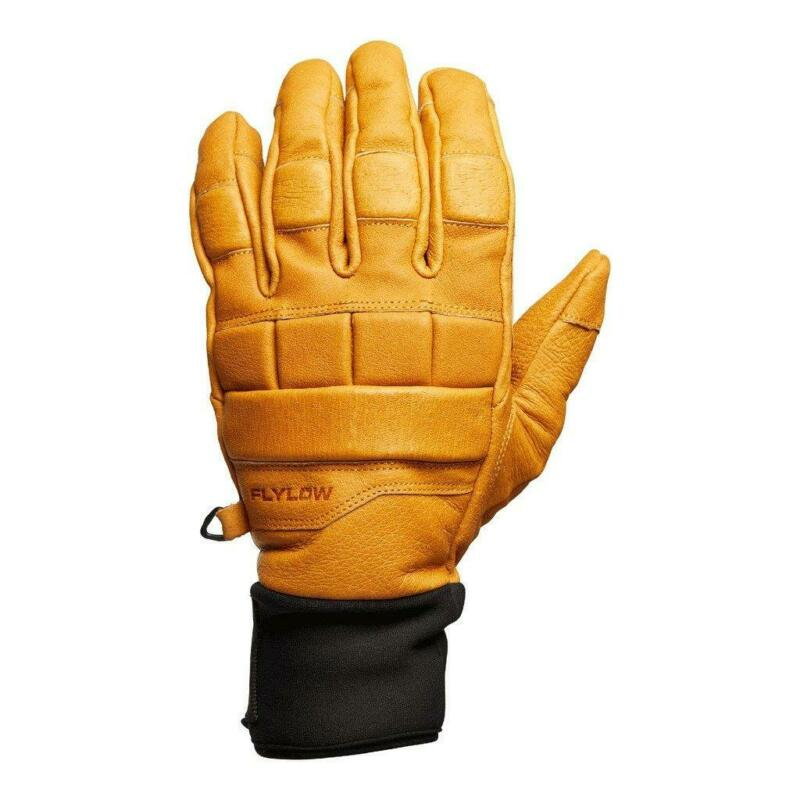 New Flylow Savage Gloves - Padded Leather Ski Glove - S-M-L-XL