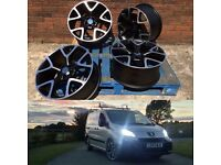 "18"" VXR Replica Wheels, Tyres and Locking nuts"