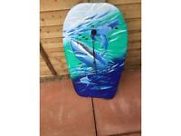 Body board for surfing