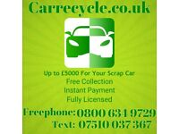 Carrecycle Scrap Car Buyers Scrap My Car Walsall Wolverhampton Birmingham Cannock
