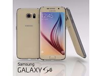 NEW !! Samsung Galaxy S6 -Gold- in original sealed box- with 24months warranty