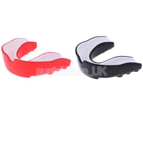 EVA Sports Mouthguard Gum Shield Mouth Guard Boxing MMA Teeth Protection Red