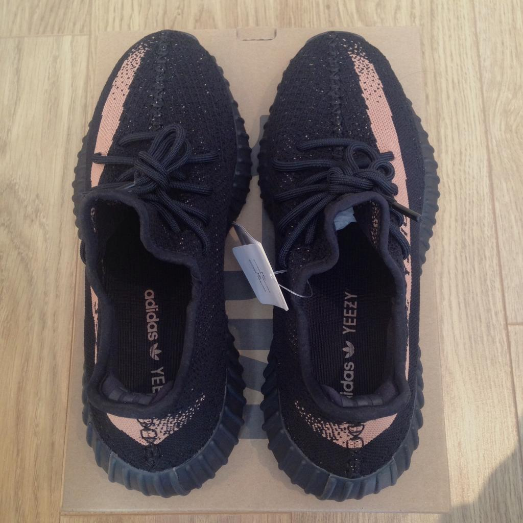 Yeezy boost 'sply 350' V2 core black / copper $ 200 BY 1605 Black