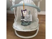 LOW PRICE. NEED GONE THIS WEEKEND mamas & papas slumber swing forest friends