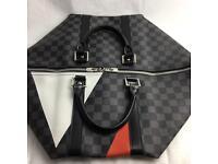 Latest Louis Vuitton 45 colour on monogram black backdrop lv unisex damier genuine designer